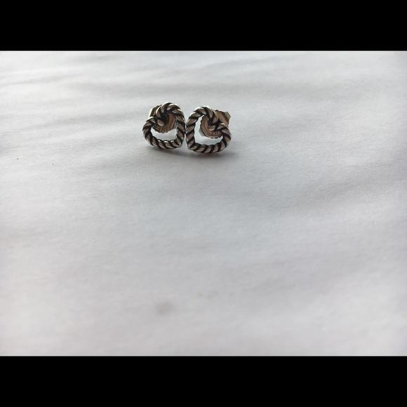 James Avery Jewelry Twisted Wire Heart Ear Posts Poshmark